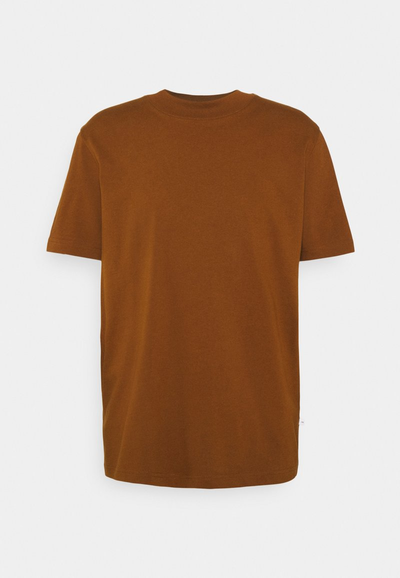 Selected Homme - SLHRELAXCOLMAN O NECK TEE - Basic T-shirt - monks robe