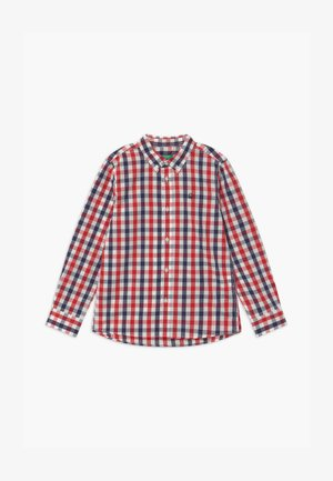Shirt - red/dark blue/white