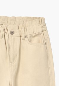 Grunt - DICTE PAPERBAG - Džíny Relaxed Fit - off white - 3