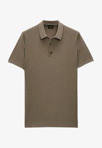 Massimo Dutti - Polo shirt - brown - 2