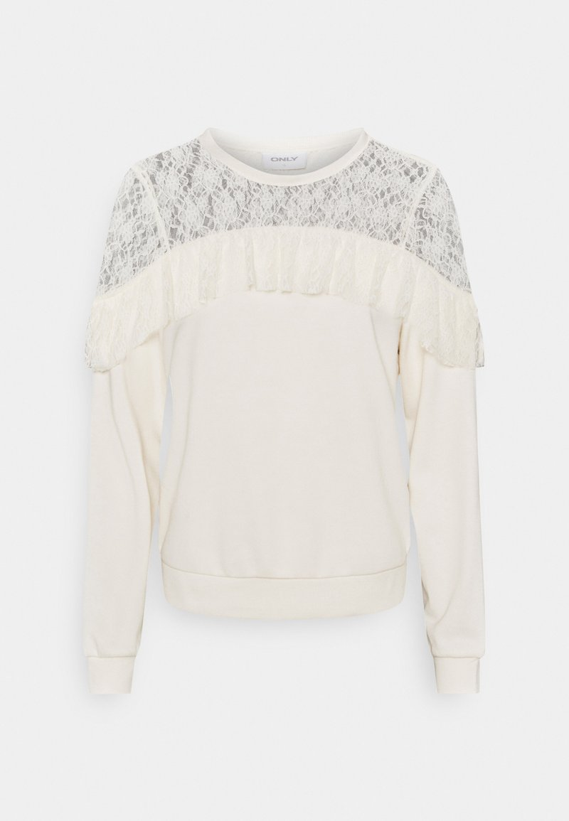 ONLY - ONLLISA  - Sweatshirt - ecru