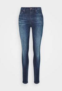 SYLVIA SUPER SKNY - Jeans Skinny Fit - dynamic mira dark blue