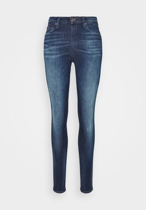 SYLVIA SUPER SKNY - Jeansy Skinny Fit - dynamic mira dark blue