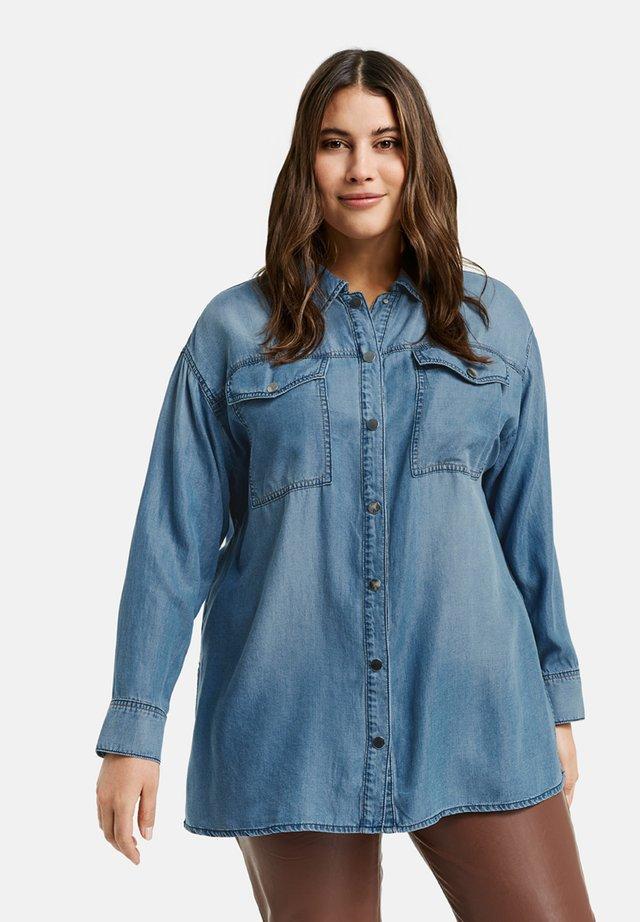 Overhemdblouse - light blue denim