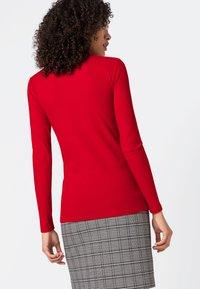 HALLHUBER - LONG SLEEVE  - Long sleeved top - red - 1