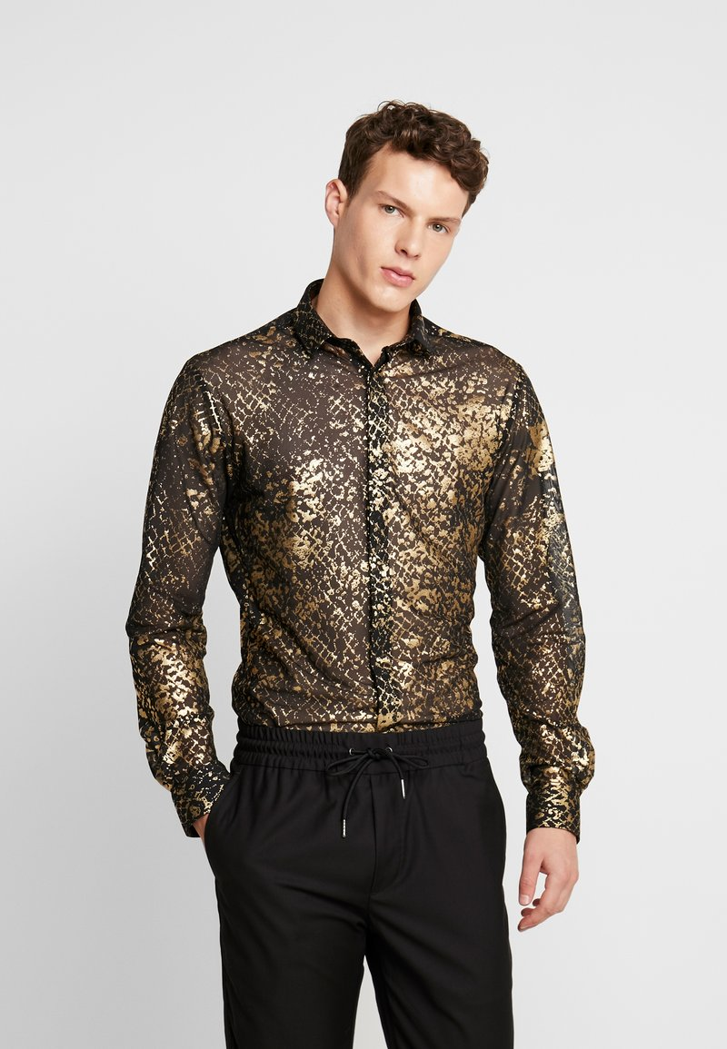 Twisted Tailor - KROLL SHIRT - Camicia - gold
