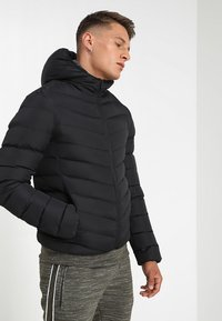 Brave Soul - MJK GRANTPLAIN - Winter jacket - black - 0