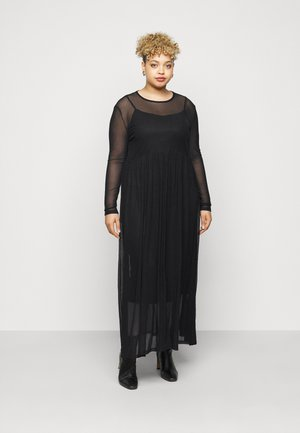 NMEMBER DRESS CURVE - Maxi dress - black
