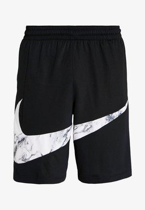 NIKE DRI-FIT HERREN-BASKETBALLSHORTS - Korte sportsbukser - black/white