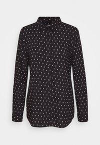 ICHI - VERA - Button-down blouse - black - 0