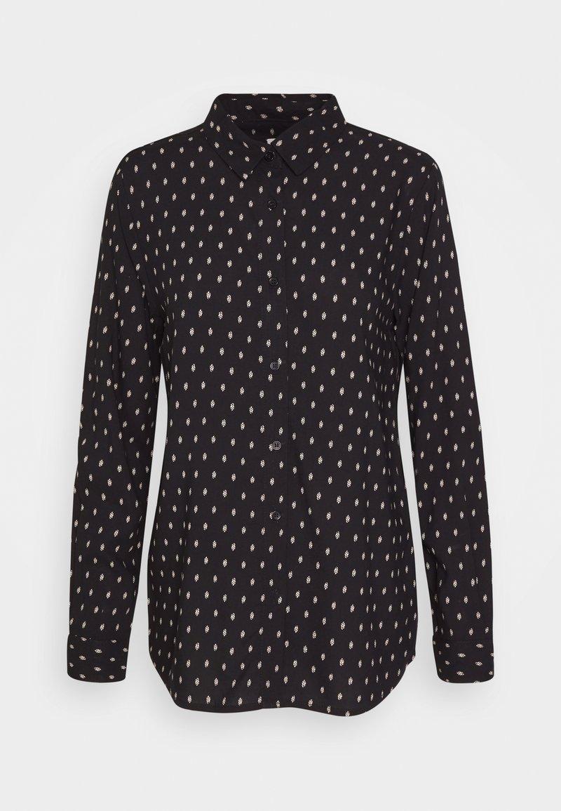 ICHI - VERA - Button-down blouse - black