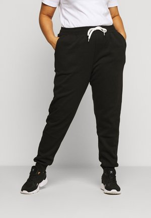 JOGGERS REGULAR FIT - Pantaloni sportivi - black
