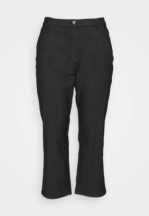 REGALE - Straight leg jeans - black