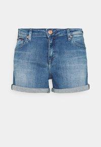 Tommy Jeans - SHORT - Denim shorts - blue denim - 0