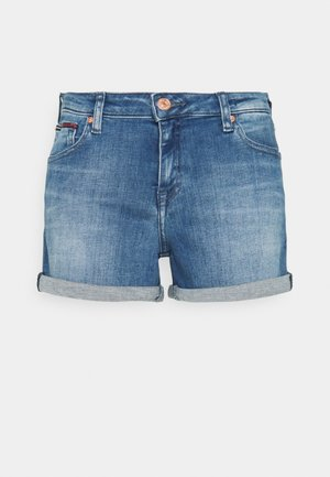 SHORT - Denim shorts - blue denim