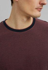 Esprit - Basic T-shirt - berry red - 3
