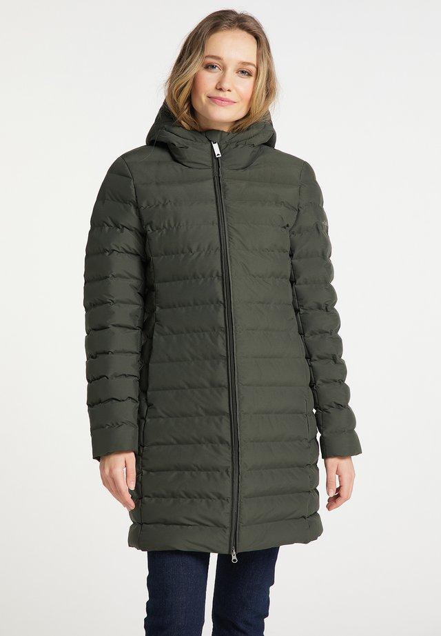 Abrigo de invierno - dunkeloliv