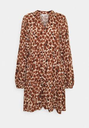 VILANA DRESS - Day dress - dark brown
