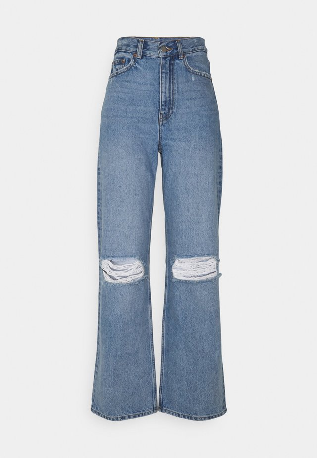 ECHO - Jeans a sigaretta - blue jay ripped