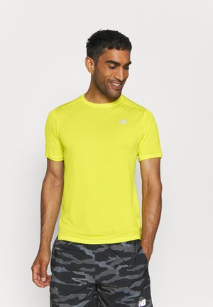 IMPACT RUN SHORT SLEEVE - T-shirt print - sulphur yellow