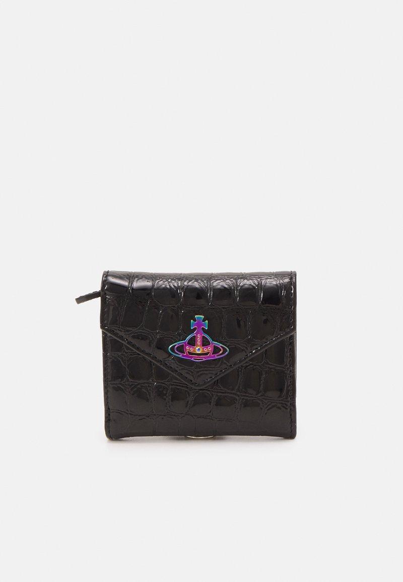 Vivienne Westwood - ARCHIVE ORB ENVELOPE BILLFOLD UNISEX - Wallet - black/iridescent