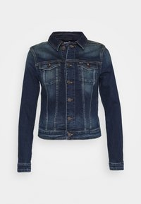 Tommy Jeans - VIVIANNE SLIM TRUCKER BXDBS - Kurtka jeansowa - box dark blue stretch - 3