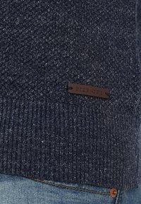 Pier One - Strikjakke /Cardigans - mottled blue - 5