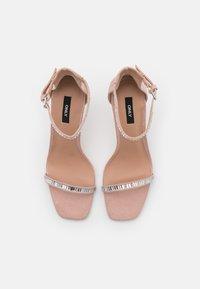 ONLY SHOES - ONLALYX LIFE STONE  - Sandály na vysokém podpatku - beige - 5