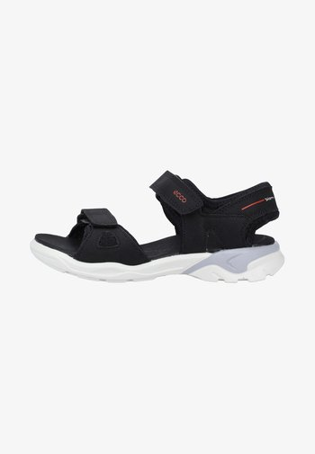 ECCO BIOM RAFT - Walking sandals - black