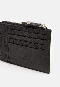 Vivienne Westwood - GEORGE CARD HOLDER WITH ZIP - Peněženka - black - 3