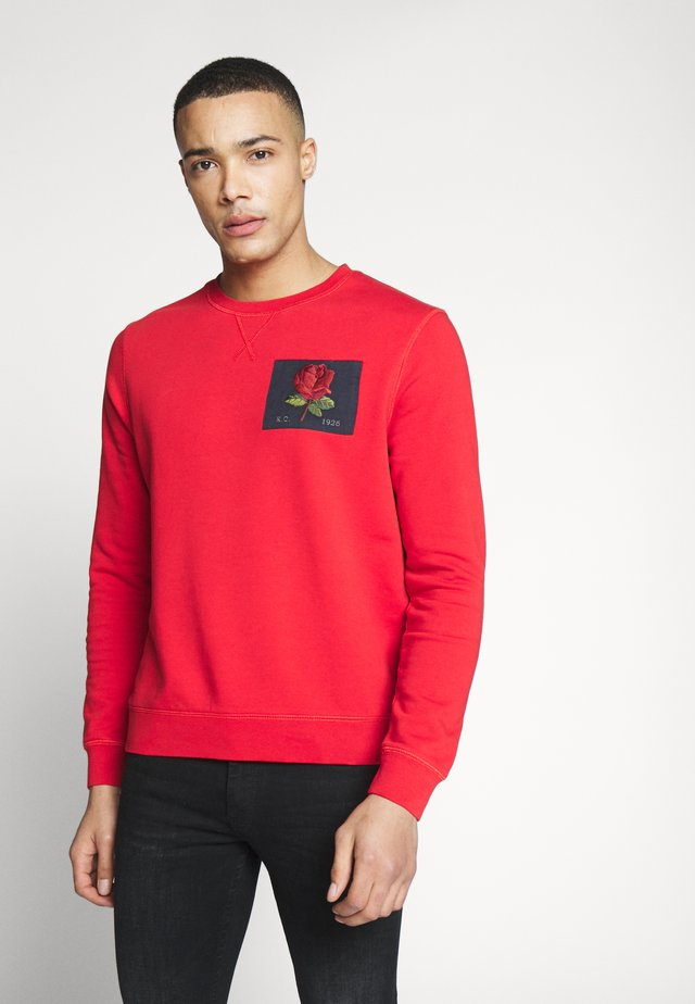 Sweatshirt - bright red
