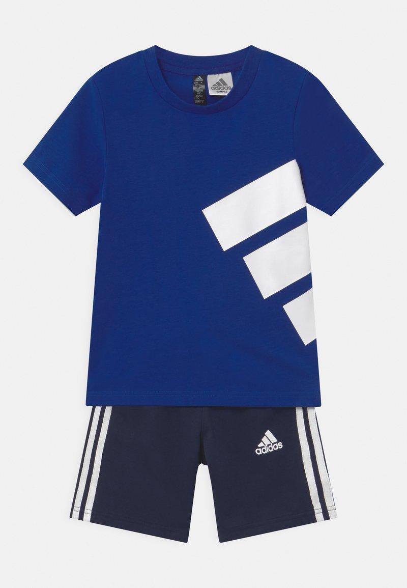 adidas Performance - BRAND SET UNISEX - Pantalón corto de deporte - royal blue/dark blue