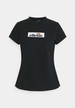 OMBRA - Print T-shirt - black