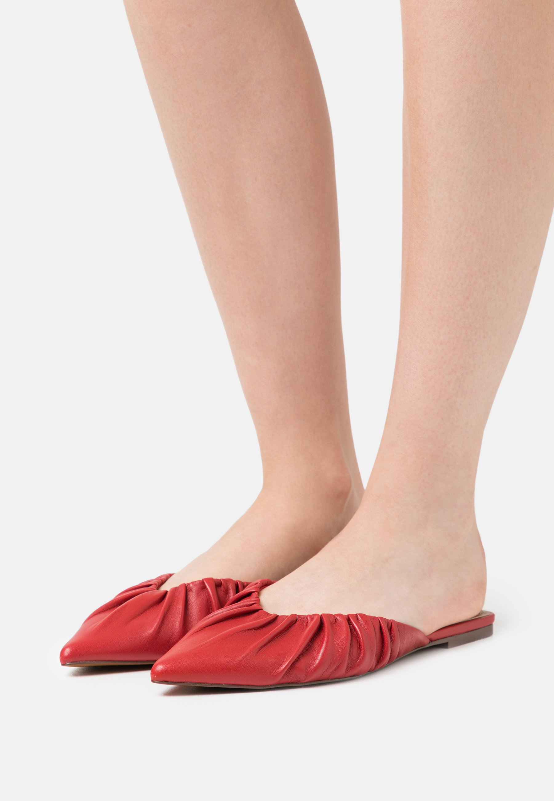 Women DORY - Mules - red