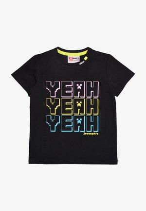 CRISY - Print T-shirt - ink black