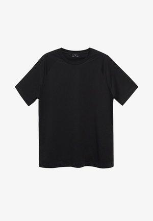 FILIPPE - Basic T-shirt - noir