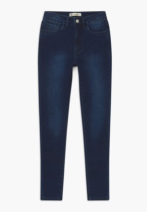 720 HIGH RISE SUPER SKINNY - Skinny džíny - dark-blue denim