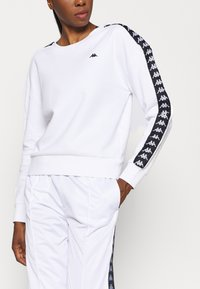 Kappa - HANKA - Sweatshirt - bright white - 4