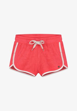 PORTO - Shorts - fluo red