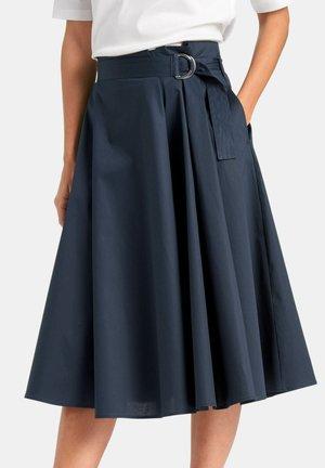 ROCK ROCK - A-line skirt - marine