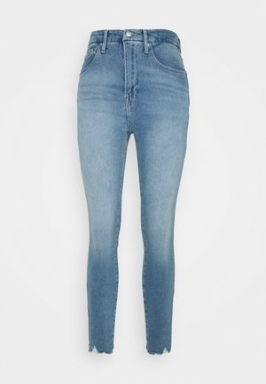 CURVE CROP  - Jeansy Skinny Fit - blue