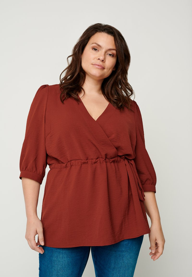 Zizzi - Blouse - dark orange
