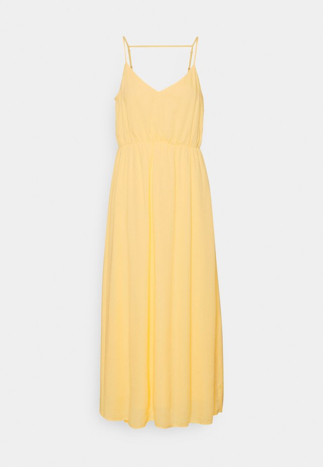 YASSHUMA ANKLE DRESS - Korte jurk - pale banana