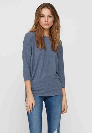 ONLGLAMOUR - Maglietta a manica lunga - vintage indigo