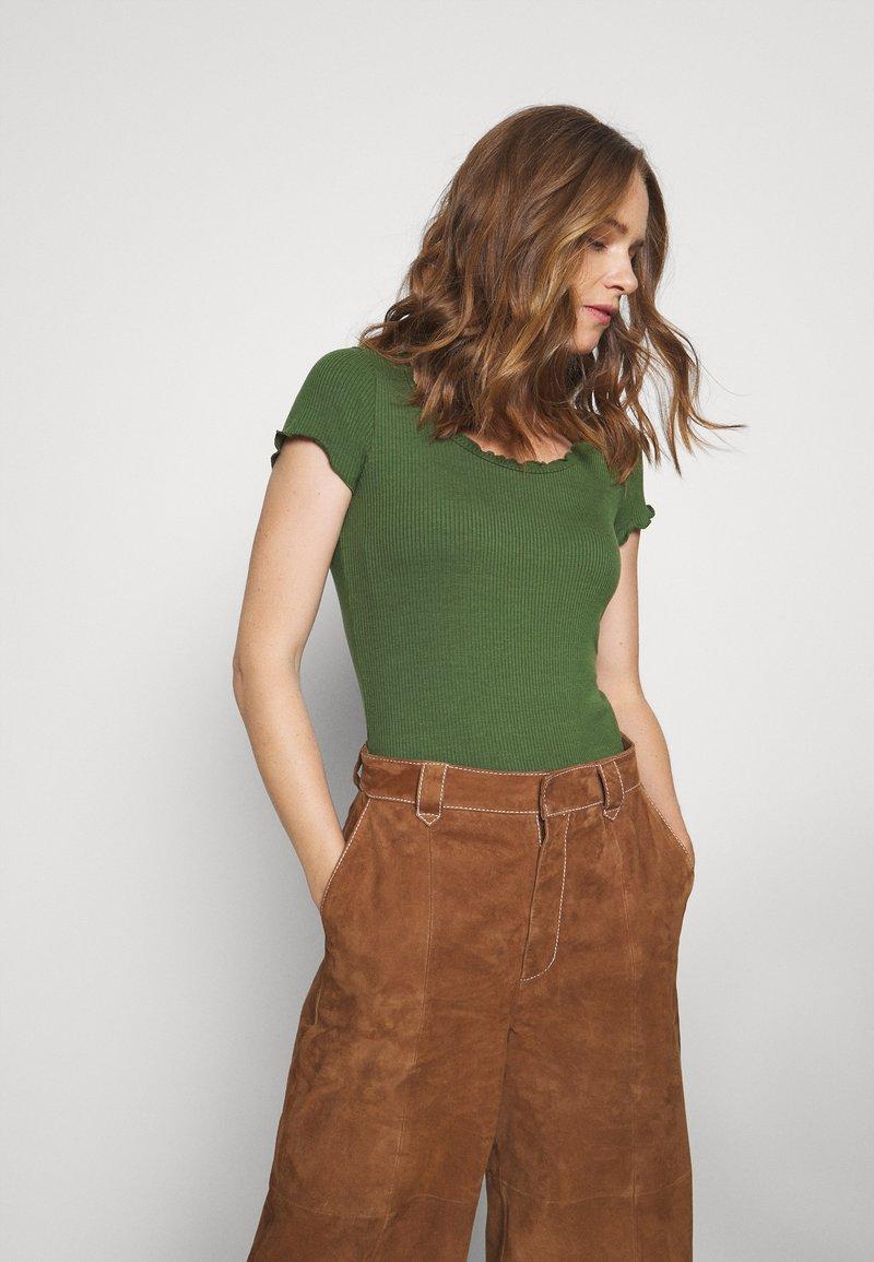 Anna Field - Basic T-shirt - olive