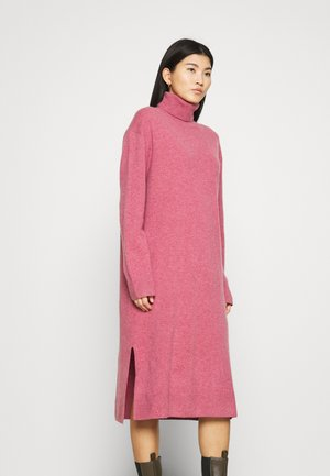 AMARIS DRESS  - Strikket kjole - pink melange