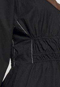 Proenza Schouler White Label - FULL SLEEVE DRESS - Vestido informal - black - 6