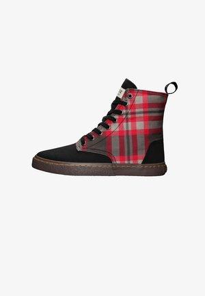 BROCK BROCK - Sneakers hoog - tartan rough rug