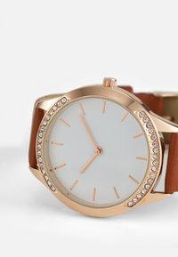 Anna Field - Watch - cognac/rose gold-coloured - 3