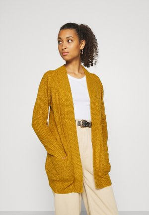 MEGAN  - Cardigan - harvest gold/black